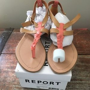 Report sandals brand new 8.5